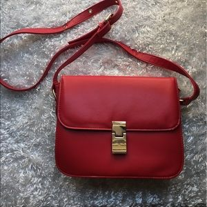Handbags - Red small shoulder bag